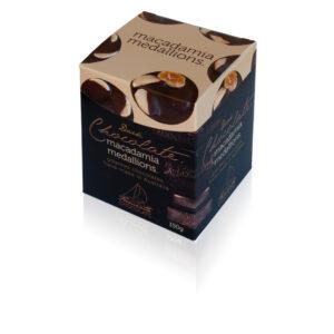 72% Dark Macadamia 150g Box