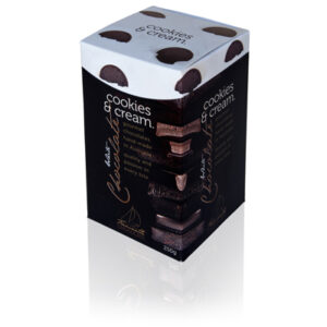 Cookies and cream - type of chocolate