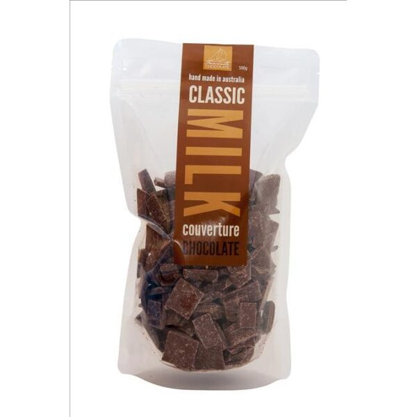 Milk Chocolate Couverture Buttons 500g