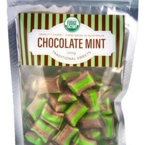 Chocolate Mint lollies