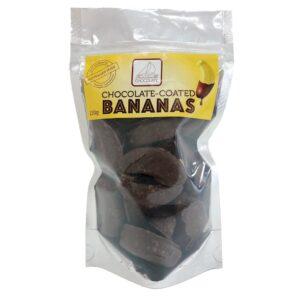 chocolate coated banana
