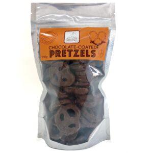 Chocolate Coated Pretzels
