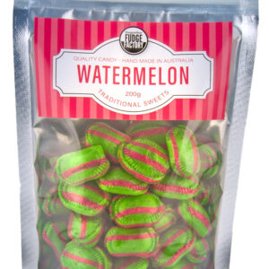 Margaret River Fudge Factory Traditional sweets Watermelon flavour 200g.