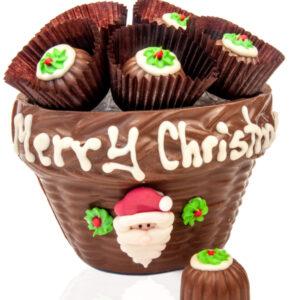 Bowl of Christmas Truffles