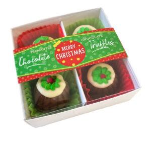 Large christmas truffles