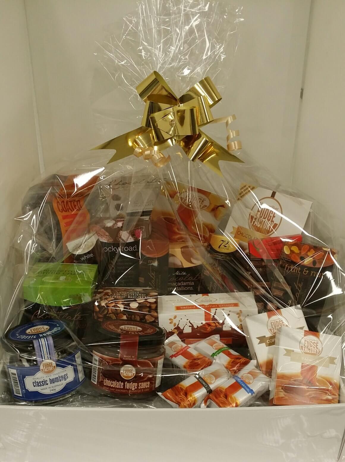 Chocolate and fudge hampers Perth